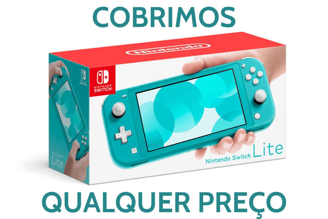 Console Nintendo Switch Lite 32GB - Turquesa - PAGAMOS SEU FRETE