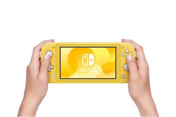 Console Nintendo Switch Lite - Amarelo - 32GB - Versão Nacional