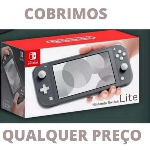 Console Nintendo Switch Lite 32GB - Cinza