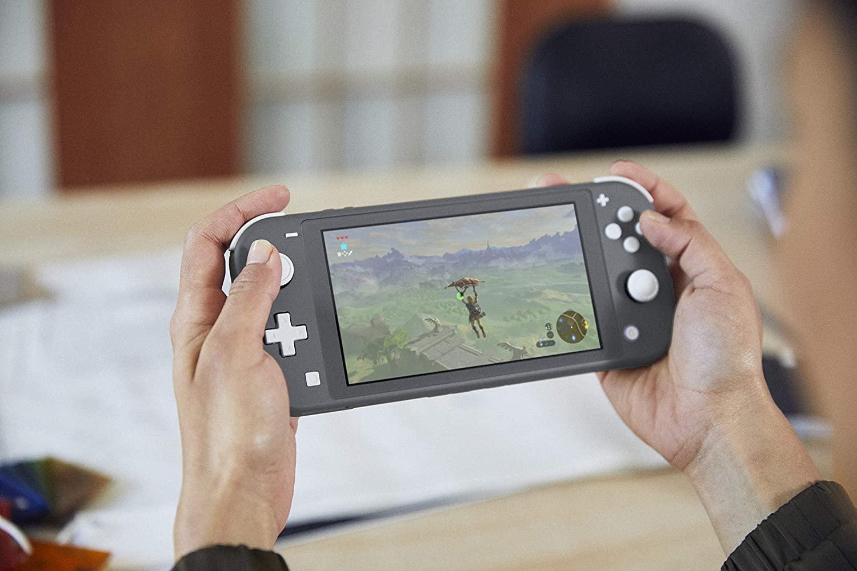 Console Nintendo Switch Lite Cinza 32GB + Diablo III Eternal Collection - Nintendo Switch