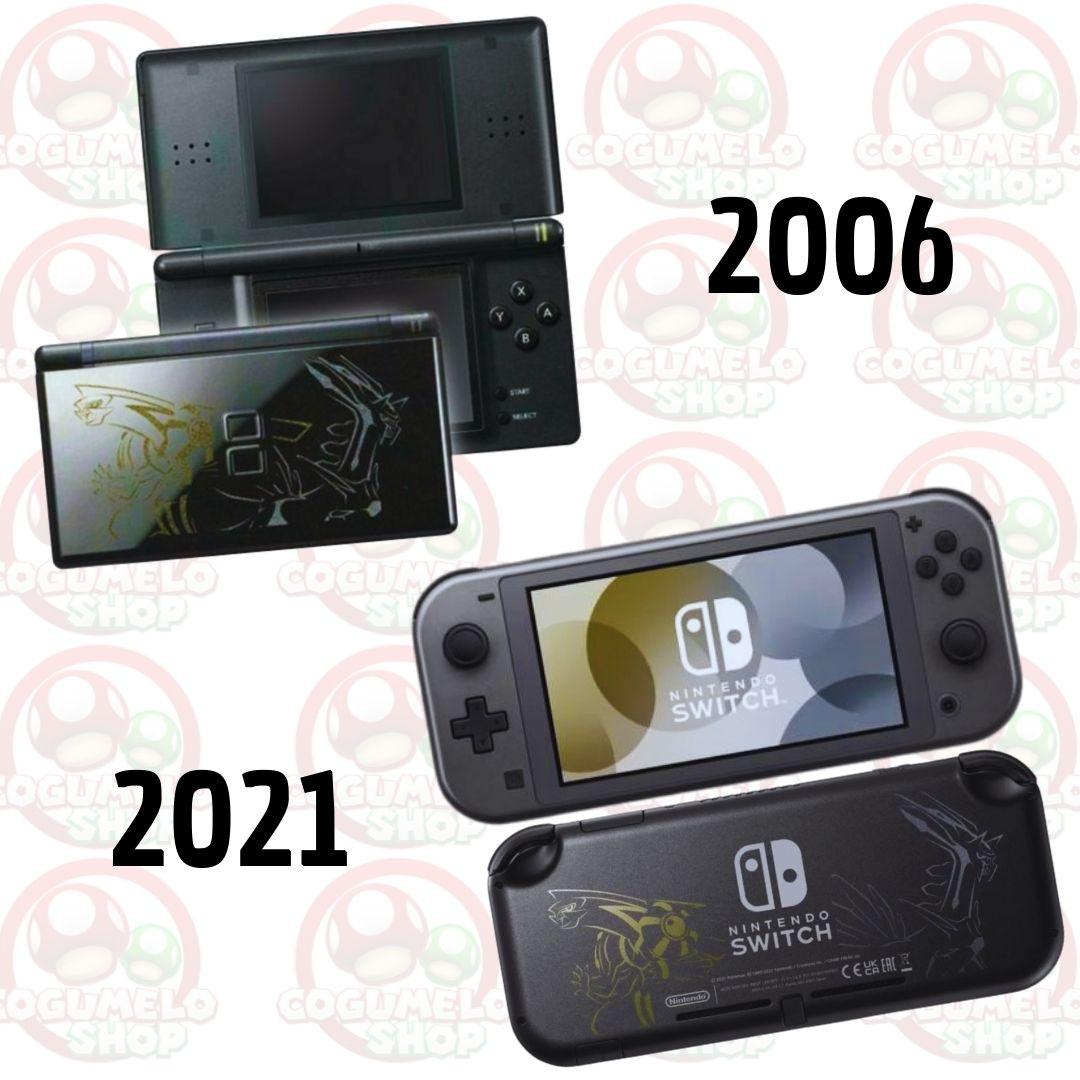 Console Nintendo Switch Lite - Dialga & Palkia Edition - 32GB - Pré Venda