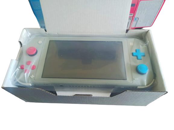 Console Nintendo Switch Lite Pokémon Edition + Case + Capa  - USADO