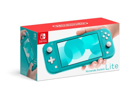 Console Nintendo Switch Lite - Turquesa - 32GB - Versão Nacional - Pré-Venda