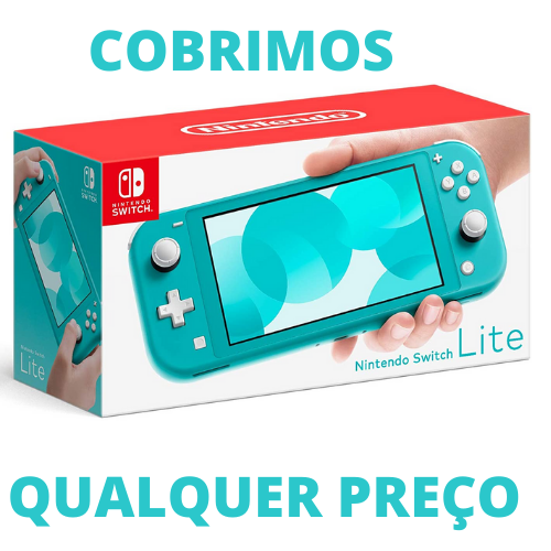 Console Nintendo Switch Lite 32GB - Turquesa