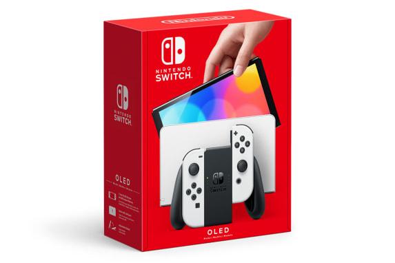 Console Nintendo Switch - Modelo Oled - Branco - 64GB