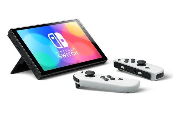 Console Nintendo Switch - Modelo Oled - Branco - 64GB - Pré Venda - LISTA DE ESPERA