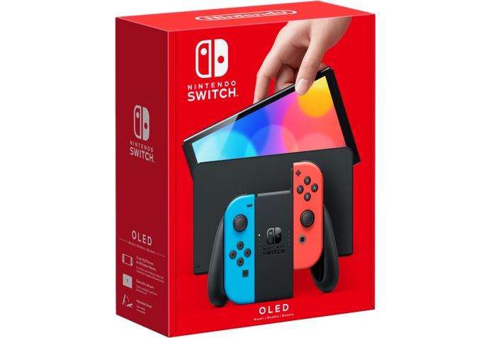 Console Nintendo Switch - Modelo Oled - Neon - 64GB