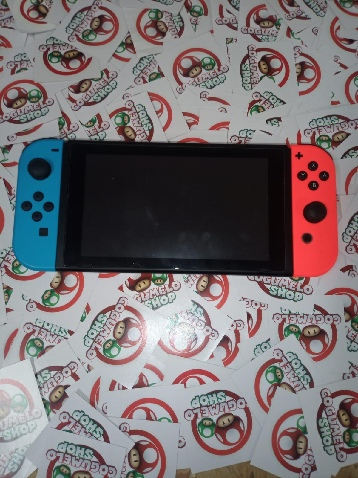 Console Nintendo Switch Neon 32gb - Versão 2 - Usado