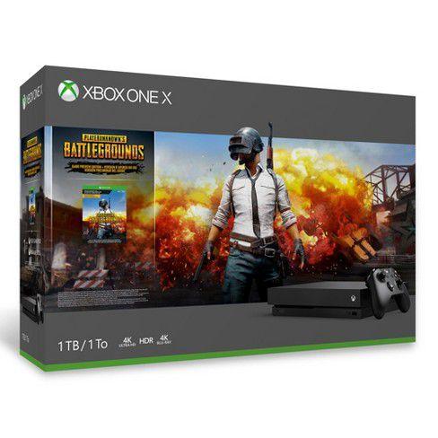Console Xbox One X 1tb Bundle Battlegrounds