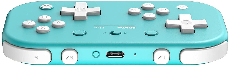 Controle 8BitDo Lite (Azul) - Nintendo Switch - Pronta Entrega
