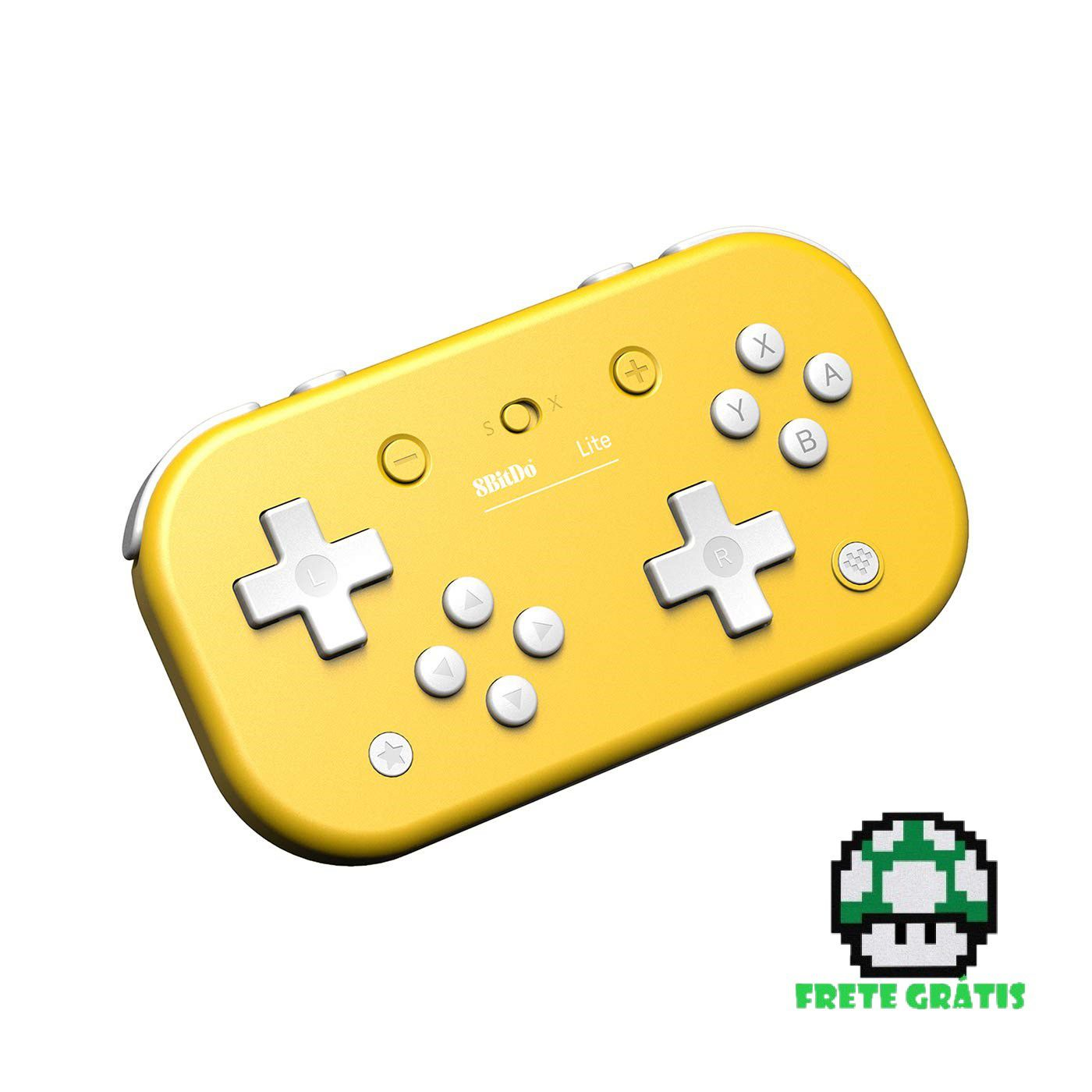 Controle 8BitDo Lite - Nintendo Switch - Envio Internacional - Frete Grátis