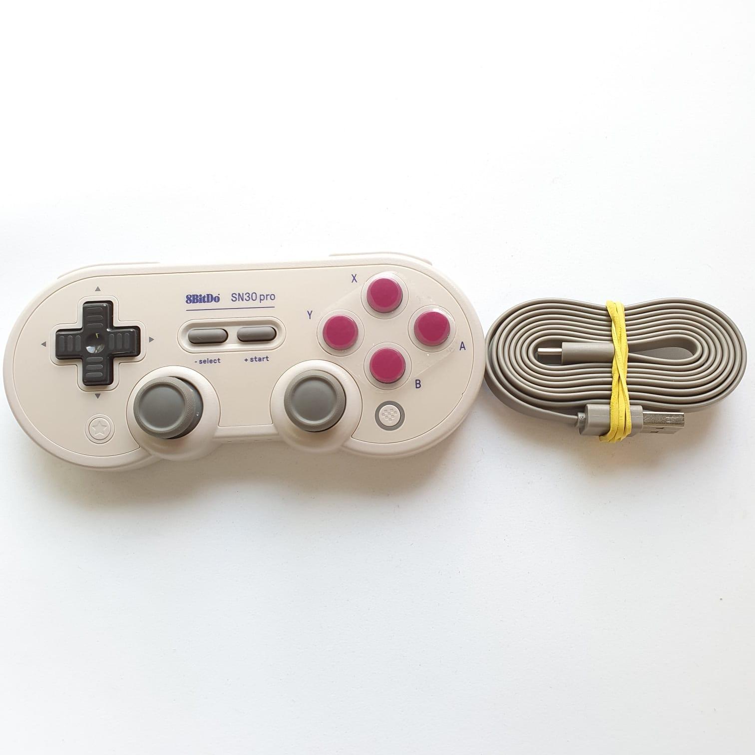 Controle 8BitDo SN30 pro - Nintendo Switch - Usado