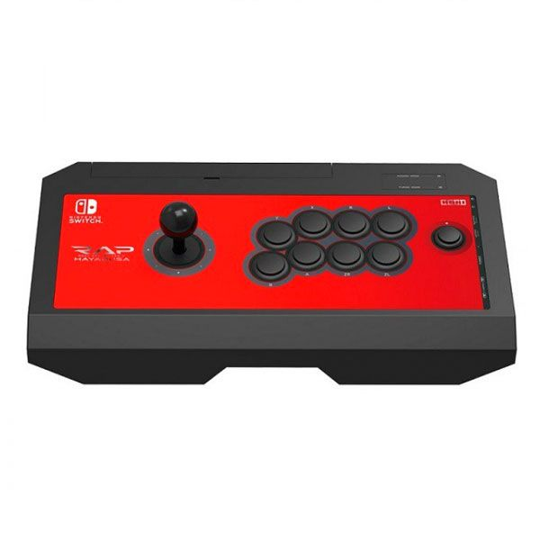 Controle Arcade Rap Fighting  Hayabusa Hori - Nintendo Switich