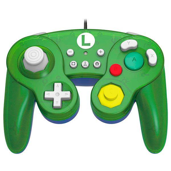 Controle Battle Pad Luigi Hori - Nintendo Switch