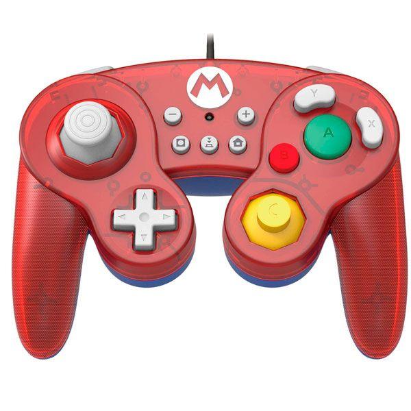 Controle Battle Pad Mario Hori Switch