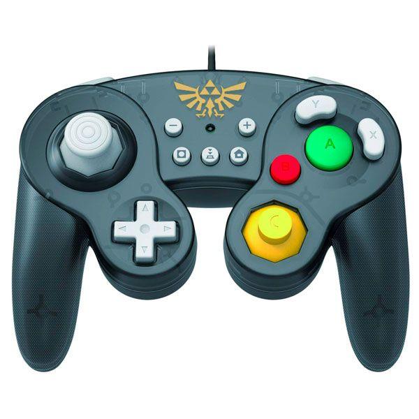 Controle Battle pad Zelda Hori - Nintendo Switch