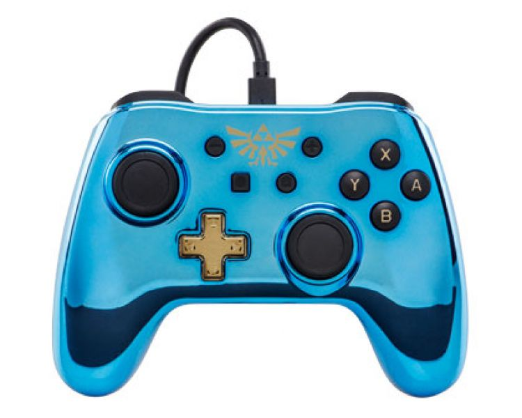 Controle Chrome Blue Zelda Powera - Nintendo Switch