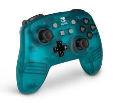 Controle Enhanced Sem Fio Teal Frost - Nintendo Switch