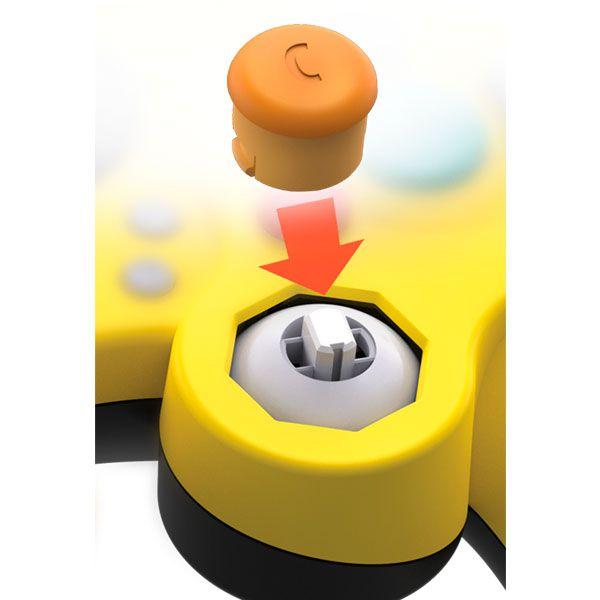 Controle Fight Pad Pro Pikachu PDP - Nintendo Switch