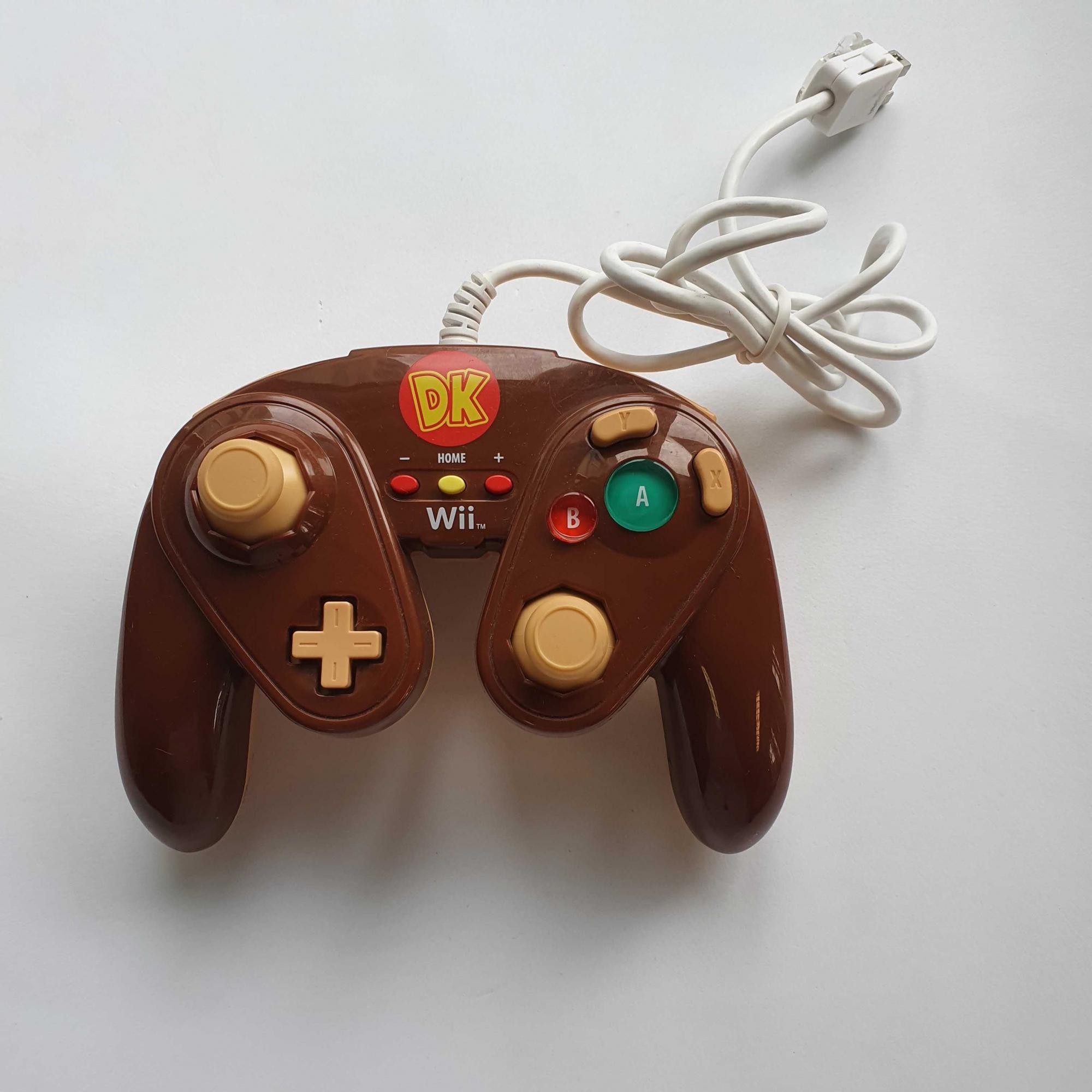 Controle GameCube (Donkey Kong) para Nintendo WIi - Nintendo Wii - Usado