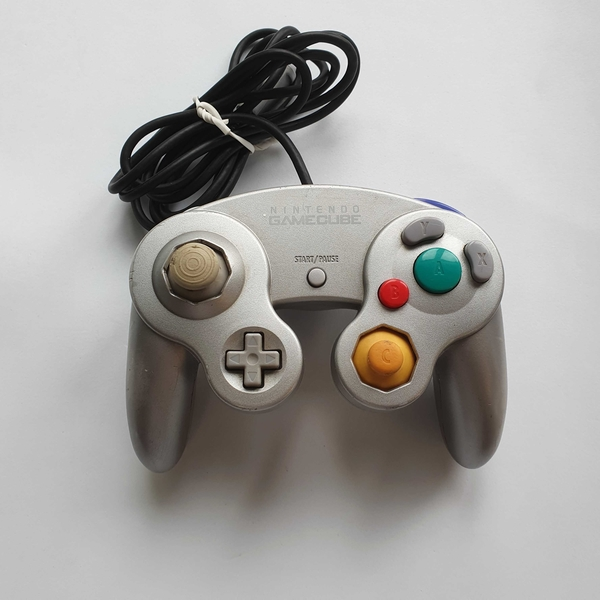 Controle GameCube (Platinum) - Nintendo GameCube - Usado