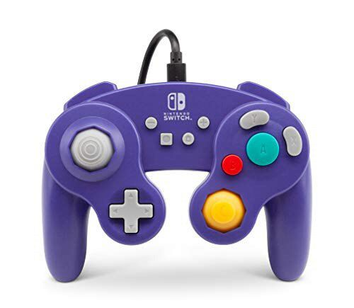 Controle PowerA Wired Controller GameCube Style: Purple (Envio Internacional) - Nintendo Switch
