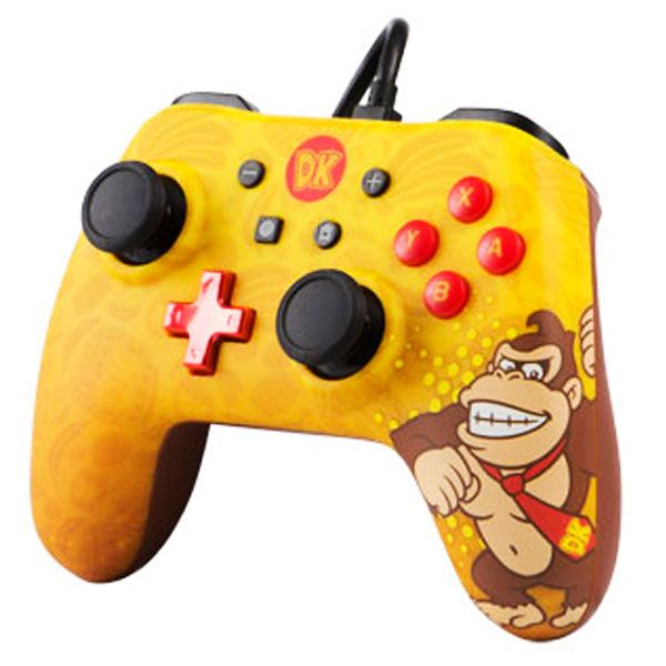 Controle Iconic: Donkey Kong Powera - Nintendo Switch