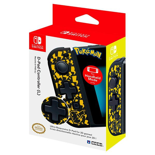 Controle Joy-Con D-Pad Pikachu Edition - Nintendo Switch