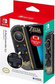 controle Joy-Con D-PAD Zelda Edition Hori - Nintendo Switch