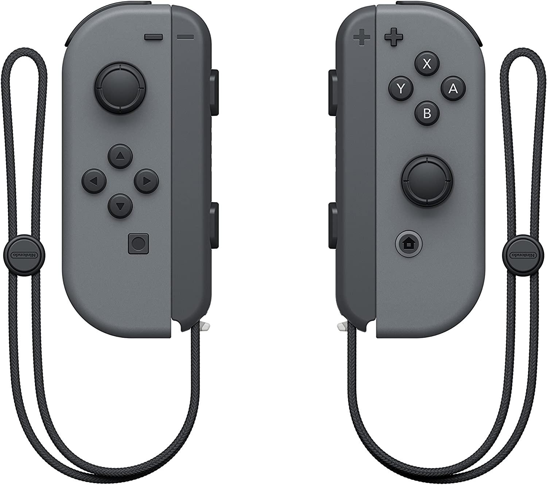 CONTROLE JOY-CON (L)/(R) Cinza - Nintendo Switch