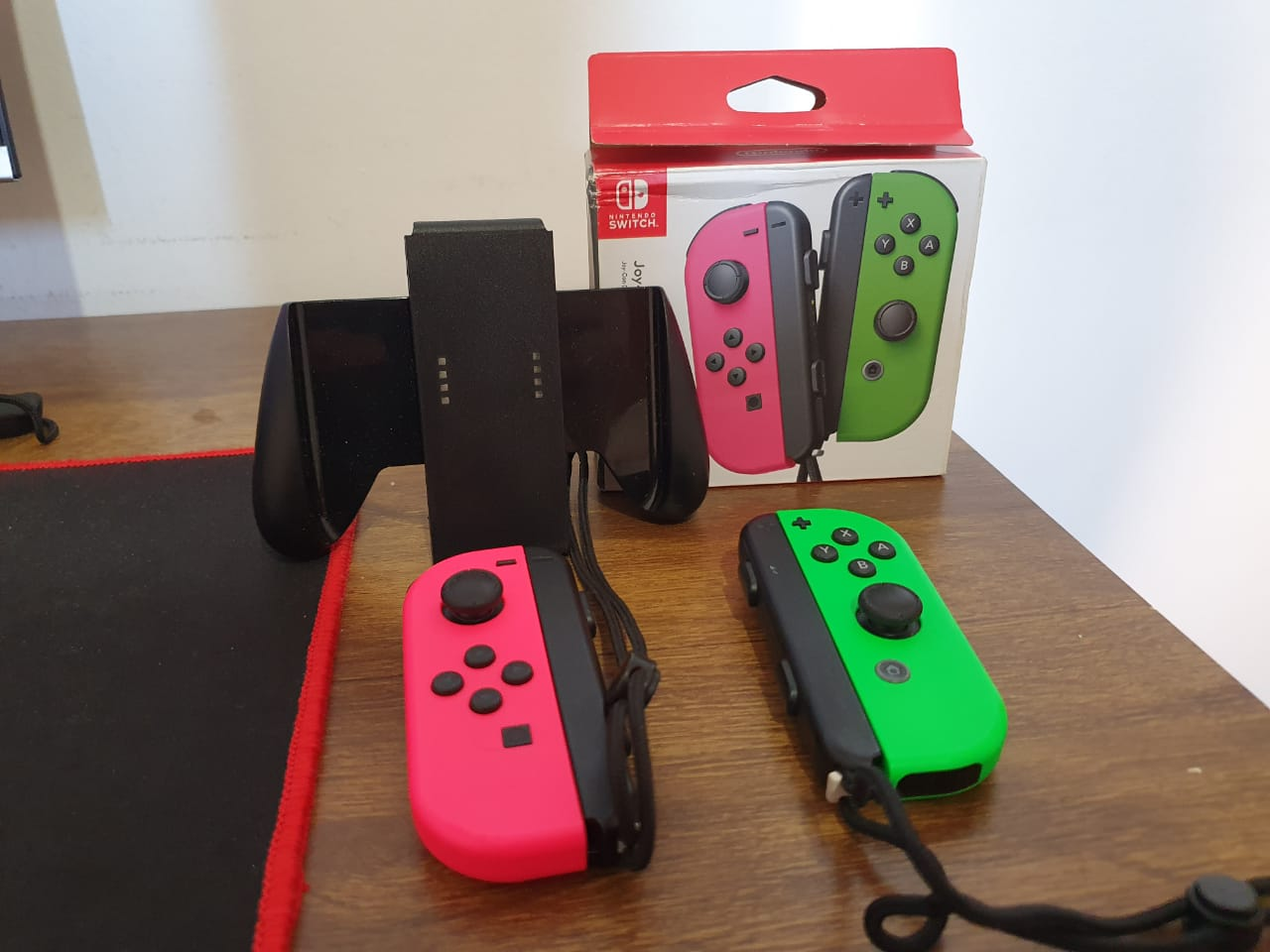 Controle Joy-con Neon Verde/Neon Rosa - Usado