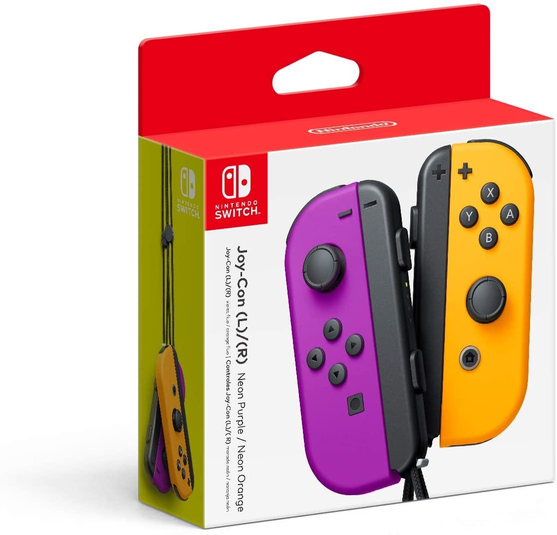 Controle Joy-Con - Roxo/Laranja - Nintendo Switch