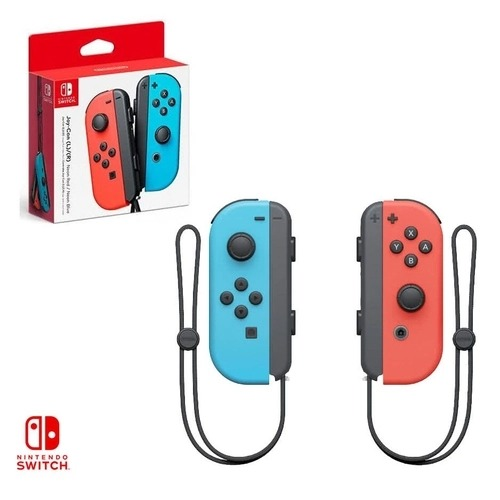 Controle Joy-Con Vermelho/Azul Neon - Nintendo Switch