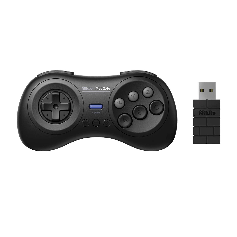 Controle M30 2.4 G SEGA Genesis Mini e Mega Drive Mini 8BitDo - Pronta Entrega