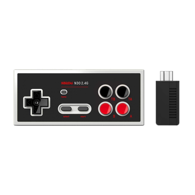 Controle N30 2.4 Clássico NES 8BitDo - Envio Internacional - Frete Grátis