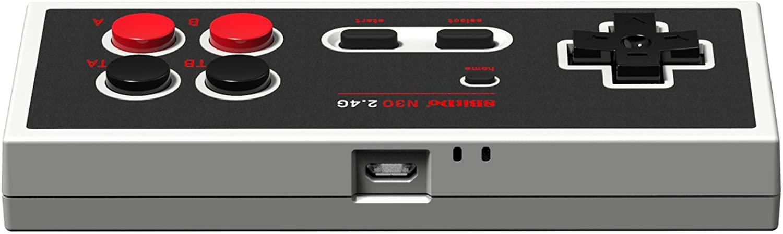 Controle N30 2.4 Clássico NES 8BitDo - Pronta Entrega