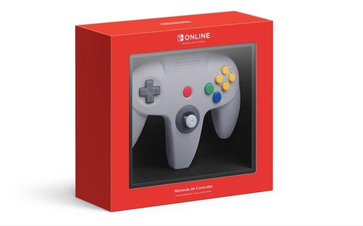 Controle Nintendo 64 Wireless - Nintendo Switch - Pré-venda - Lista de Espera