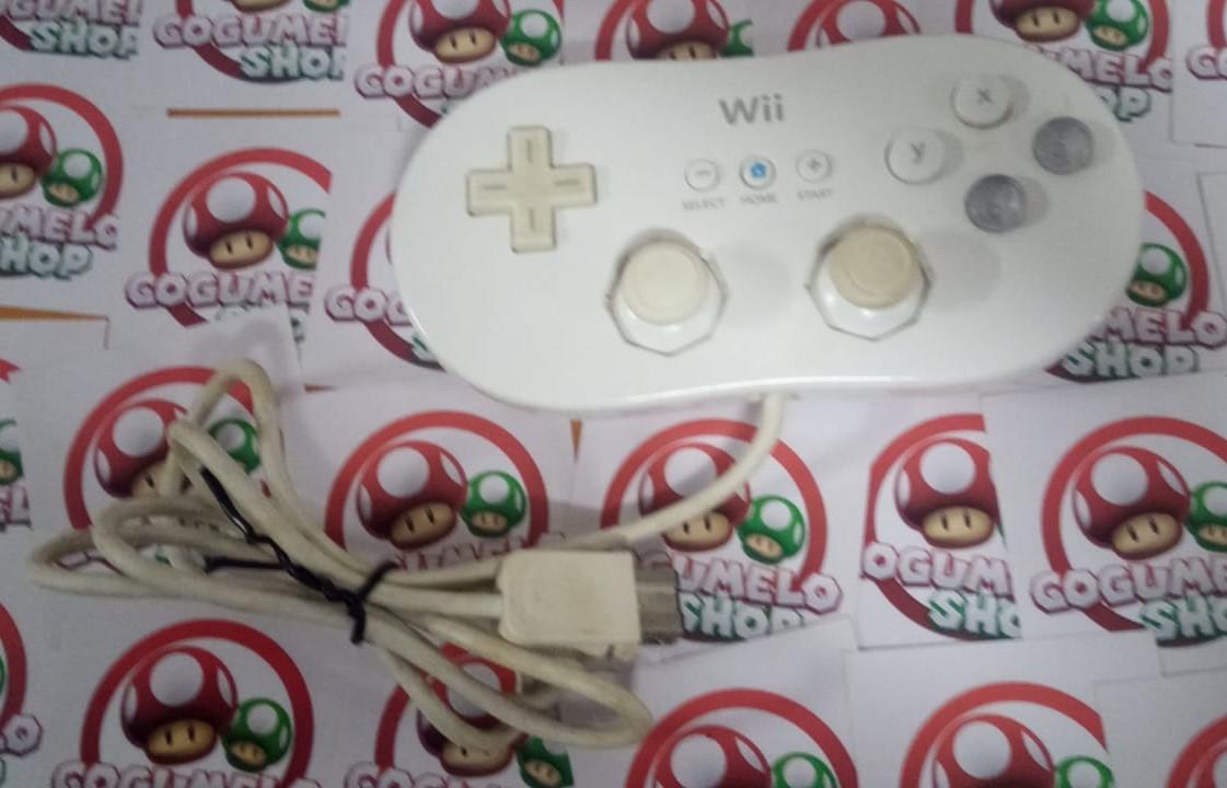 Controle Nintendo Wii Classic - USADO - Nintendo Wii