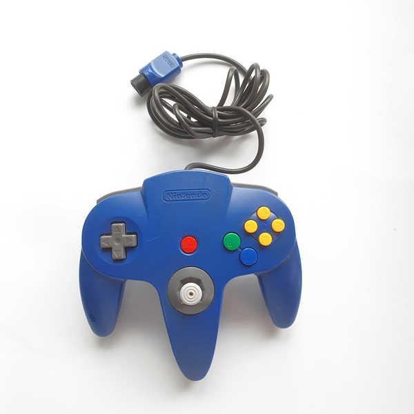 Controle para Nintendo 64 (Azul) - Nintendo 64 - Usado