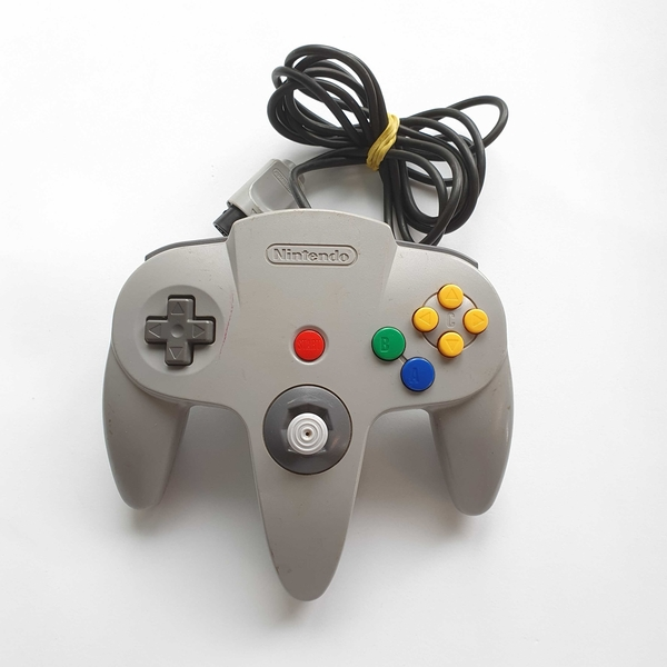 Controle para Nintendo 64 (Cinza) - Nintendo 64 - Usado
