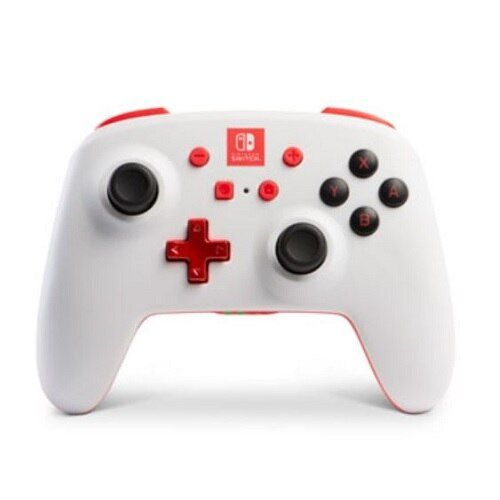 Controle Power a Enhanced Sem Fio White Edition 1879 - Nintendo Switch