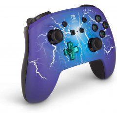 Controle Powera Enhanced Sem Fio Spider Lightning - Nintendo Switch