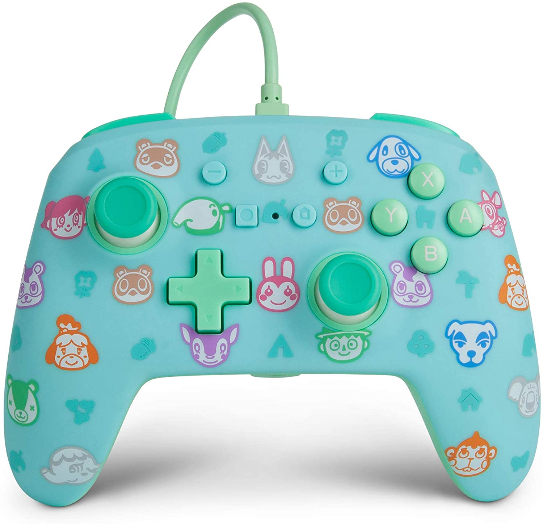 Controle PowerA com fio - Animal Crossing  - Nintendo Switch