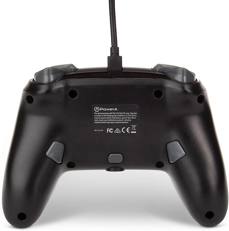 Controle PowerA Enhanced Wired - Mario Silver  - Nintendo Switch