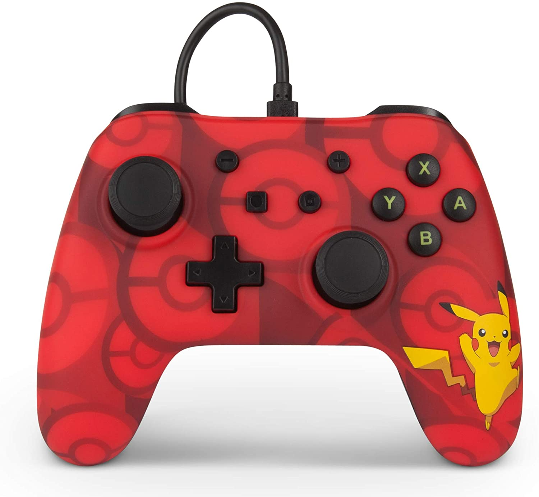 Controle PowerA Enhanced Wired - Pikachu - Nintendo Switch
