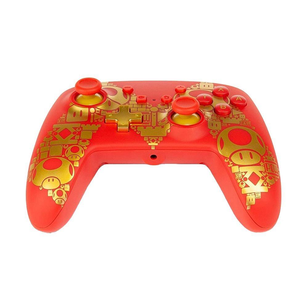 Controle PowerA Enhanced Wired - Super Mario - Nintendo Switch