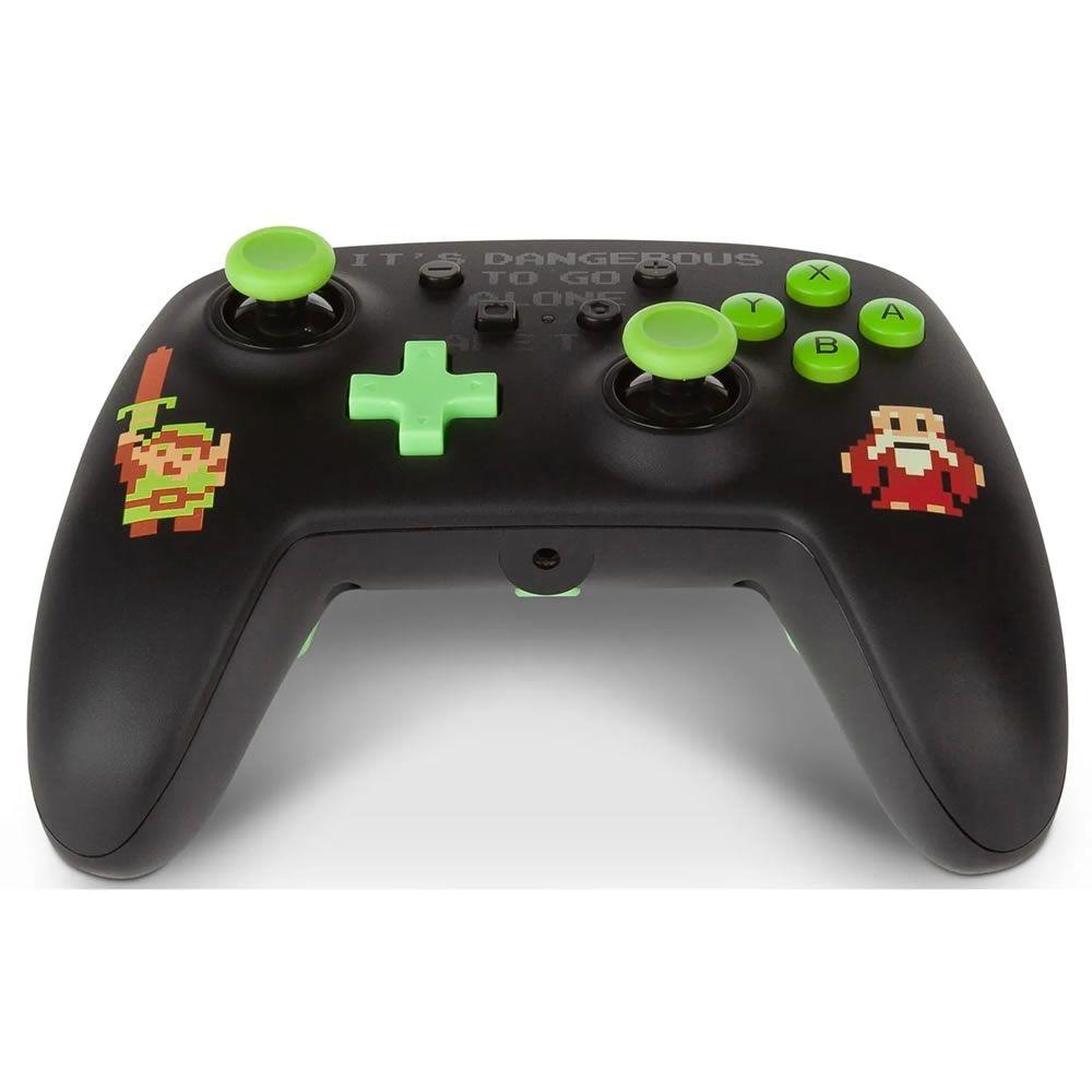 Controle PowerA Enhanced Wired - Zelda Retrô  - Nintendo Switch
