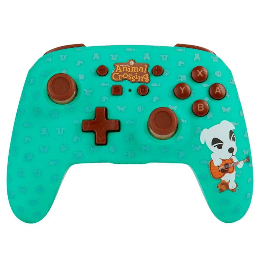 Controle PowerA Slider Wireless - Animal Crossing - Nintendo Switch