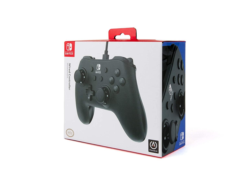 Controle PowerA com fio - Black Matte - Nintendo Switch