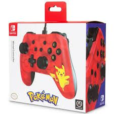 Controle Powera Wired   Pikachu - Nintendo Switch